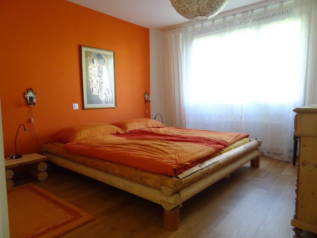 Schlafzimmer Orange | Möbelideen, Schlafzimmer Entwurf
